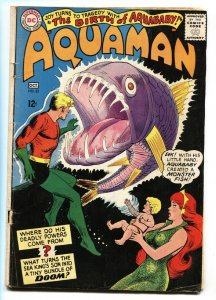 Aquaman #23 First appearance of AQUABABY 1965-DC Silver Age