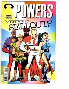 Lot Of 4 Powers Image Comic Books # 26 27 28 29 NM 1st Print Brian Bendis AK7