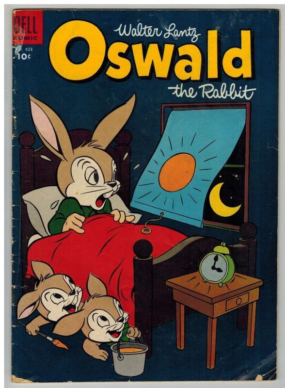 OSWALD THE RABBIT (1943-1962 DELL) F.C. 623 G 1955