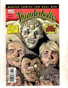 10 Thunderbolts Marvel Comics # 76 77 78 82 83 84 128 129 130 131 Deadpool CJ11