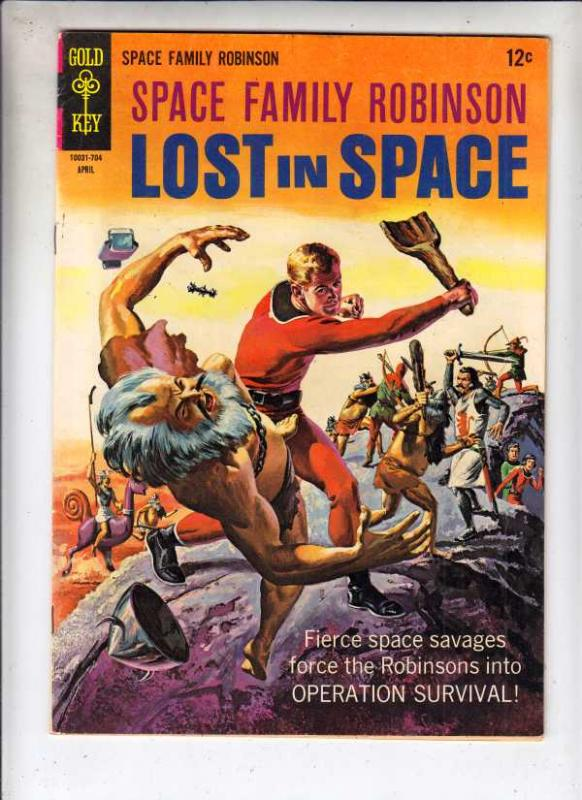 Space Family Robinson, Lost in Space #21 (May-67) VF High-Grade Will Robinson...