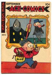 Ace Comics #114 1946- PHANTOM- Prince Valiant FN+