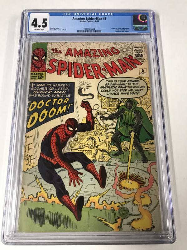 Amazing Spider-Man #5 CGC 4.5