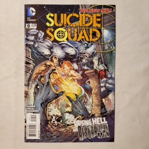 Suicide Squad 9 Very Fine+ Cover by Ken Lashley