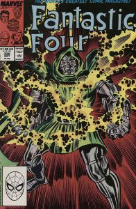 Fantastic Four (Vol. 1) #330 VG; Marvel   low grade comic - save on shipping - d