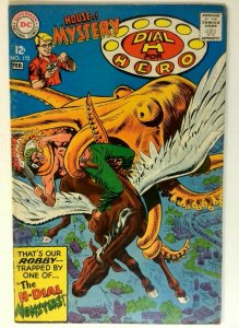 House of Mystery #172 DC 1968 VG/FN Silver Age 1st Printing Comic Book
