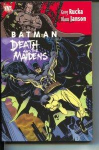 Batman: Death and the Maidens-Greg Rucka-TPB-trade