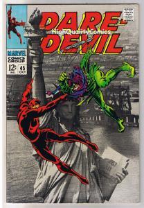 DAREDEVIL #45, VF+, Gene Colan, Jester, Stan Lee, 1964, more in store