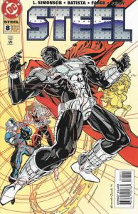 Steel #8 VF/NM; DC | save on shipping - details inside