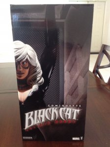 Sideshow Black Cat Comiquette statue MIB #0115/1500 Adam Hughes Spider-Man low #