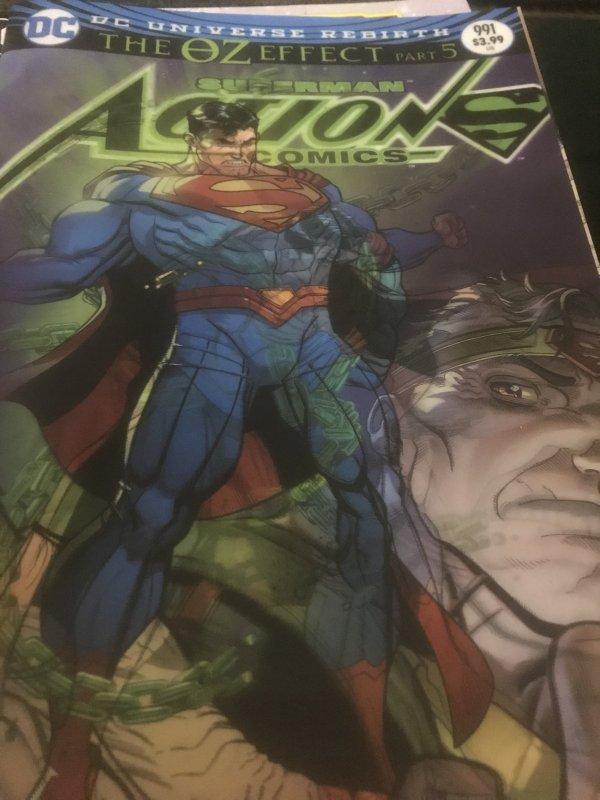 DC Superman Action Comics #991 Mint 3D Effect
