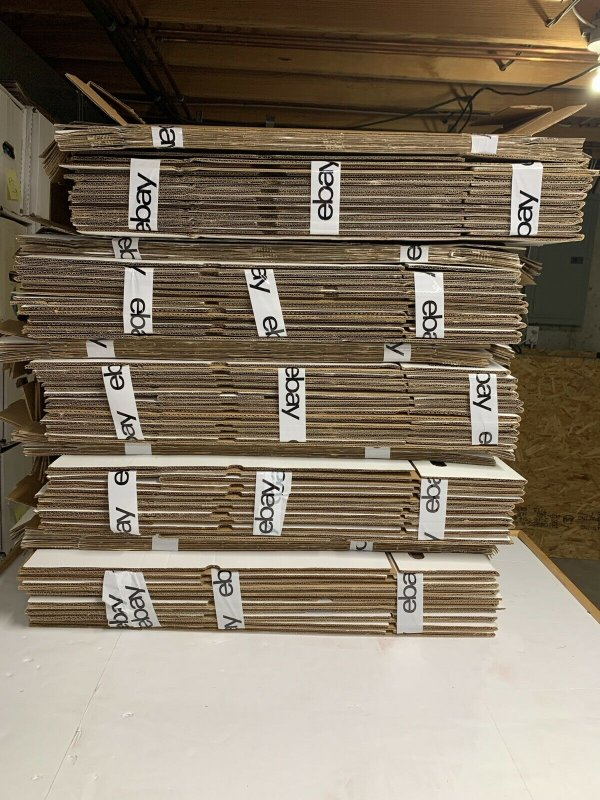 Comic Book Long Box Lot Of 10 (Lighly Used) With Lids