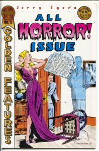 Jerry Iger's Golden Features #5 1985-All Horror issue-reprints Golden Age comic-