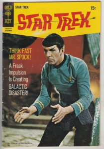 Star Trek #6 (Dec-69) FN+ Mid-High-Grade Captain Kirk, Mr Spock, Bones, Scotty