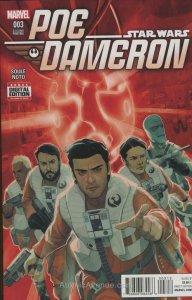 Poe Dameron #3 (2nd) VF/NM; Marvel | save on shipping - details inside