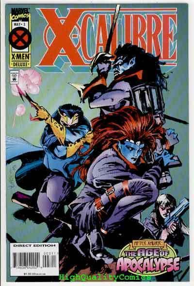 X-CALIBRE #3, NM+, Age of Apocalypse, Warren Ellis, more Marvel in store