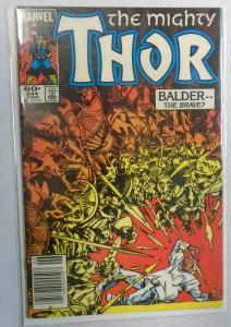Thor (1st Series Journey Into Mystery) #344, Newsstand Edition 7.0 (1984)