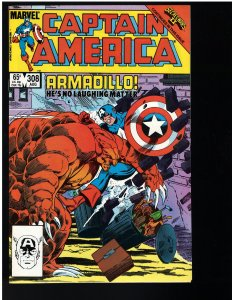 Captain America #308 (Marvel, 1985)
