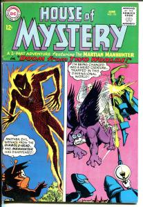 House of Mystery #151 1965-DC-Martian Manhunter-sci-fi thrills-VG/FN