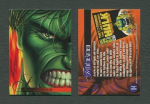 1995 Flair Marvel Annual Card #84 (Hulk)  MINT