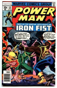 POWER MAN AND IRON FIST #48-IRON FIST AND LUKE CAGE MEET-Mark Jewelers variant