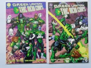 Green Lantern The New Corps, Set:#1+2, 8.0/VF (1999)
