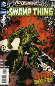 Swamp Thing (5th Series) Annual #1 VF; DC | save on shipping - details inside