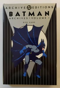 ARCHIVE EDITIONS BATMAN ARCHIVES VOL.1 HARD COVER FIRST PRINT DC COMICS