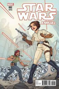 STAR WARS Annual #2, VF/NM, Princess Leia, Hans Solo, 2015 2017, Variant