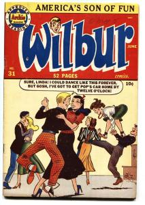 Wilbur #31 Archie-1950-Katy Keene-Dancing cover-VF-