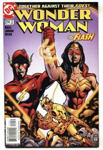WONDER WOMAN #214 DC Flash / Cheetah cover 2005