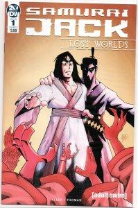 Samurai Jack: Lost Worlds 1A NM (A new Samurai Jack adventure in every issue!)