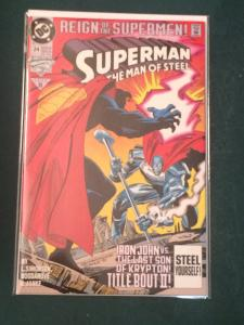Superman The Man of Steel #24 Reign of the Supermen