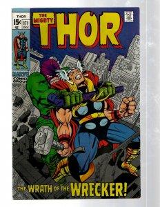 Mighty Thor # 171 VF Marvel Comic Book Loki Odin Asgard Sif Avengers Hulk RB8