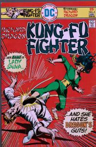 Richard Dragon Kung-Fu Fighter #5 - 1st Lady Shiva - 9.0 or Better