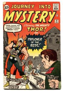 JOURNEY INTO MYSTERY #87 1962-MARVEL-THOR-KIRBY ART-vg