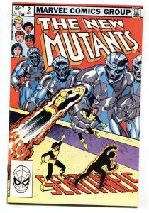 The New Mutants #2 comic book  1983- Marvel High Grade