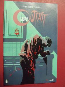 OUTCAST 1ST PRINT #6 (9.4 or better) IMAGE COMICS