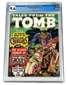 CGC 9.6 CLASSIC TALES FROM THE TOMB v2 #6 (1970) SINGLE HIGHEST GRADED Halloween