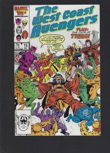 West Coast Avengers #15 (1986)