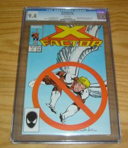 X-Factor #15 CGC 9.4 1st appearance of horsemen of apocalypse - x-men villains