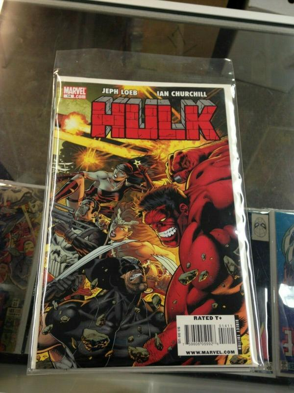 Hulk 14 vol.2 1st appearance Code Red