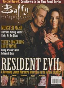 Buffy The Vampire Slayer Official Magazine #4 VF; MVP | save on shipping - detai