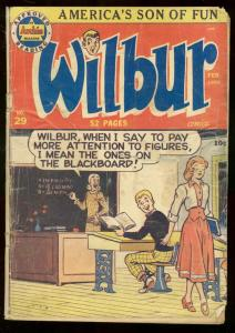 WILBUR COMICS #29 1950 ARCHIE COMICS KATY KEENE VIGODA G