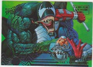 1995 Fleer Ultra Spider-Man Gold Foil Signature Series #100