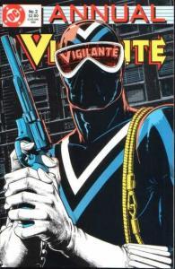Vigilante (1983 series) Annual #2, NM (Stock photo)