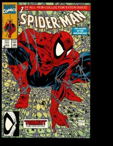 Lot Of 8 Spider-Man Marvel Comics # 1(2) 2 3 4 5 6 7 Ghost Rider Lizard SM2