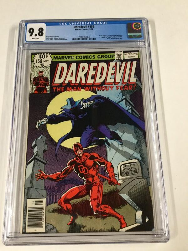Daredevil #158 CGC graded 9.8