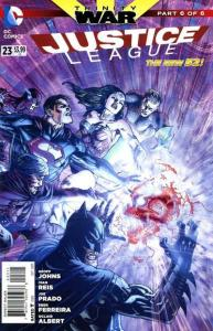 Justice League (2011 series) #23, NM + (Stock photo)