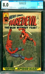Daredevil #16 CGC 8.0